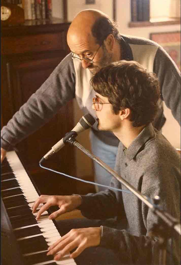Samuele e Lucio Dalla
